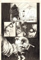 Dark Horse Down Under #? p.5 - The Undertaker ''Brothel Creeper'' - 1994 Comic Art