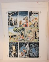 The Adventures of Tom Sawyer p.37 - LA - Painted Art - 1994 Comic Art