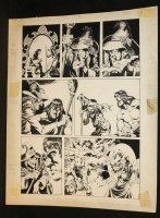 Conan? Kull? #? p.5 - LA - Kull with Witch - 1977 Comic Art