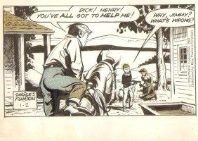Lone Ranger Strip 1/2/63 - Kids Adventure  Comic Art