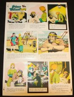 Prince Valiant #1662 Vintage Color Proof - 12/15/1968 Comic Art