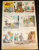 Prince Valiant #1656 Vintage Color Proof - 11/3/1968 Comic Art
