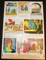 Prince Valiant #1637 Vintage Color Proof - 6/23/1968 Comic Art