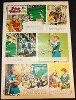 Prince Valiant #1723 Vintage Color Proof - 2/15/1970 Comic Art