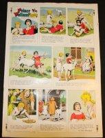 Prince Valiant #1704 Vintage Color Proof - 10/5/1969 Comic Art