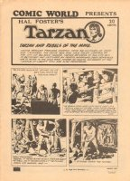 Comic World on Tarzan by Hal Foster Comic Art
