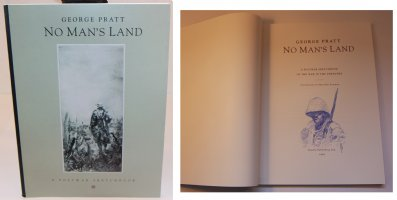No Mans Land: A Postwar Sketchbook - A - With a Sketch on the Inside by the Artist - 1992 / 2002 Signed Comic Art