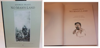 No Mans Land: A Postwar Sketchbook - J - With a Sketch on the Inside by the Artist - 1992 / 2002 Signed Comic Art