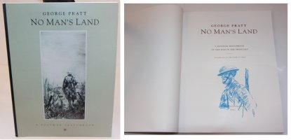No Mans Land: A Postwar Sketchbook - C - With a Sketch on the Inside by the Artist - 1992 / 2002 Signed Comic Art