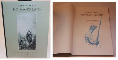 No Mans Land: A Postwar Sketchbook - D - With a Sketch on the Inside by the Artist - 1992 / 2002 Signed Comic Art