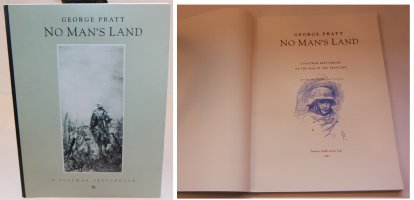 No Mans Land: A Postwar Sketchbook - E - With a Sketch on the Inside by the Artist - 1992 / 2002 Signed Comic Art