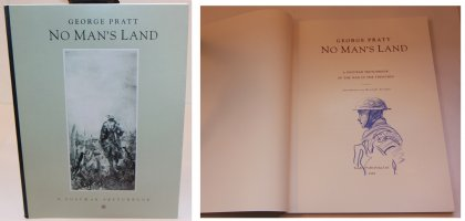 No Mans Land: A Postwar Sketchbook - F - With a Sketch on the Inside by the Artist - 1992 / 2002 Signed Comic Art