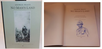 No Mans Land: A Postwar Sketchbook - G - With a Sketch on the Inside by the Artist - 1992 / 2002 Signed Comic Art