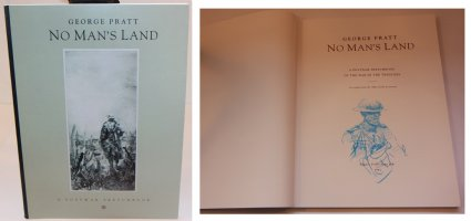 No Mans Land: A Postwar Sketchbook - H - With a Sketch on the Inside by the Artist - 1992 / 2002 Signed Comic Art