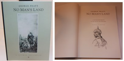 No Mans Land: A Postwar Sketchbook - i - With a Sketch on the Inside by the Artist - 1992 / 2002 Signed Comic Art