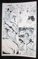 Captain Marvel #25 p.16  Comic Art