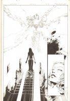 Spawn Godslayer #6 p.15 - Splash - 2008 Signed Comic Art
