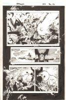 Spawn #154 p.12 - Gunfight - 2005 Comic Art
