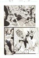 Green Lantern #41 p.7 - John Stewart Under Attack - 2009 Comic Art