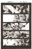 Spawn #154 p.15 - Crazy Action - 2006 Comic Art