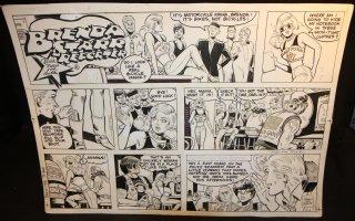 Brenda Starr Reporter Sunday - LA - 10/6/1985  Comic Art