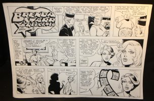 Brenda Starr Reporter Sunday - LA - 9/11/19858 Comic Art