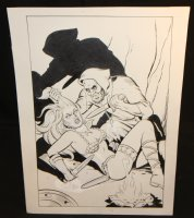 Red Sonja Cover? Commission? - Signed Comic Art