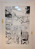 Doctor Fate #5 p.7 - LA - 1989 Signed Comic Art
