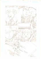 Fables #51 p.2 - Cinderella Negotiating Treaty with Giants - 2006 Signed Comic Art