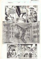 Daredevil #344 p.26 - Nick Fury has the Punisher at Gunpoint - Daredevil App - 1995  Comic Art