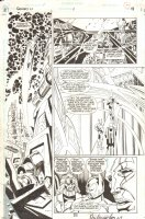 Genesis New Gods #1 p. 18 - Signed  Comic Art