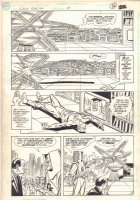 Flash Special #1 p.13 - Flash Knocked Out  - 1990 Comic Art