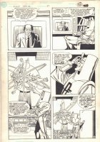 Flash Special #1 p.10 - Professor Fallout - 1990  Comic Art