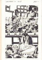 Captain America #29 p.2 - S.H.I.E.L.D. vs. the Serpent Squad - Tony Stark App - 2007 Comic Art