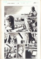 Captain America #33 p.2 - Winter Soldier and Black Widow - 2008 Comic Art