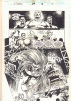 X-Factor #119 p.24 - Wildchild Attacks - 1996  Comic Art