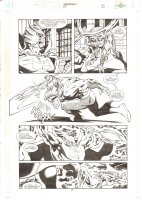 Aquaman #67 p.7 - Aquaman vs. Ocean Master - 2000 Comic Art
