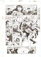 Aquaman #67 p.11 - Ocean Master Kidnaps Charlanda - 2000 Comic Art