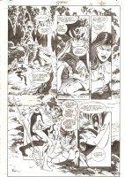 Aquaman #67 p.12 - Ocean Master Slaps Charlanda - 2000 Comic Art