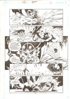 Aquaman #68 p.11 - Tempest vs. Ocean Master - 2000 Comic Art