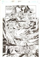 Aquaman #68 p.16 - Ocean Master vs. Aquaman - 2000 Comic Art