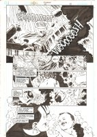 Aquaman #68 p.17 - Ocean Master vs. Aquaman & Tempest - 2000 Comic Art