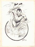 Namor the Sub-Mariner Commission - 1998 Signed Comic Art