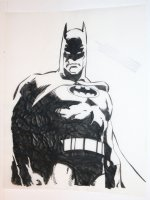 Batman Merchandise Art on Velum - B Comic Art