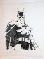 Batman Merchandise Art on Velum - C Comic Art