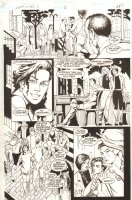 Batman: Gotham Nights II #1 p.21 - 1995 Comic Art