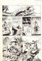 Creepy #94 p.7 - 'Etran to Fulsing' - Slaying a Giant Serpent - 1978 Comic Art