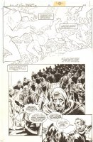 Batman: Dark Knight of the Round Table #2 p.21 - Ra's al Ghul - 1999 Comic Art