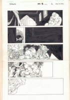 Spawn #102 p.2 - Walking in on Sleeping Child - 2001 Comic Art