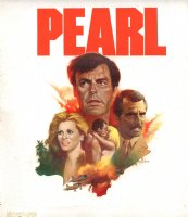 Pearl TV Series Painted Cover - LA - Signed Comic Art